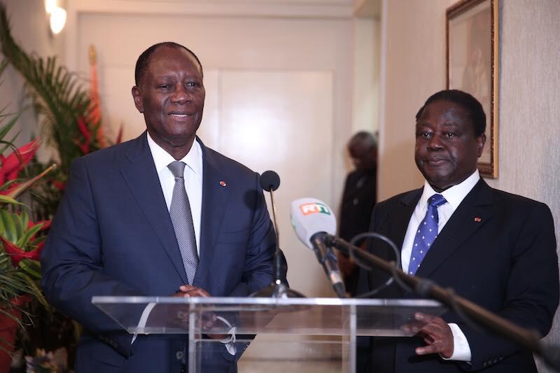 Côte d'Ivoire : l'alliance politique Henri Konan Bédié/Alassane Ouattara, schème historique de l'houphouëtisme.