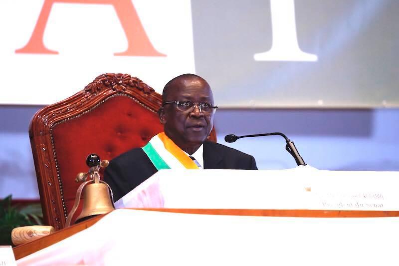 Installation officielle du Sénat : Ahoussou Jeannot promet d'être à la hauteur des attentes